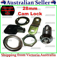 New: 28mm Cam Lock / Door Lock - ARCADE / MAME / PINBALL - MACHINE