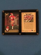 Joe Montana Autograph Upper Deck Authenticated NFL Trilogy 2-card Set
