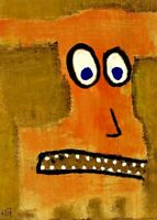 Original Painting Hand Signed Illustration Board Miniature Picasso Miro Andy COA