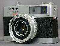 MINOLTA AUTOPAK 700 35mm VINTAGE Film Camera ROKKOR 38mm F2.8 Lens VERY CLEAN