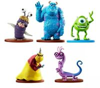 Disney Pixar MONSTERS INC Action Figures Sulley Boo Roz Randall & Mike Set/5-NEW