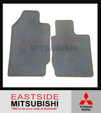 GENUINE MITSUBISHI ML MN TRITON SINGLE CAB FRONT RUBBER FLOOR MATS SET OF 2