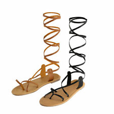 Patternless Gladiator Casual Sandals & Beach Shoes for Women
