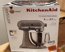 KitchenAid KSM 150 5 Quart Tilt Head Stand Mixer Matte Gray - READ DESCRIPTION