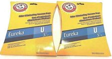 2 packs of Odor Eliminating Vacuum Bags Arm & Hammer 3 bags per pack Eureka