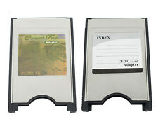 New Pcmcia CompactFlash Cf Card Reader Adaptor for Notebook Laptop Pc