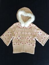 Gymboree Girls Size 5 6 Hooded Sweater Alpine Sweetie EEUC Hoodie Valentine