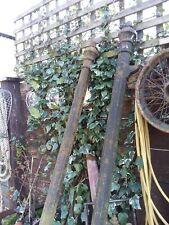 Victorian Cast Iron Pair Gate Posts