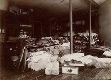 France, Blois, Manufacture Chaussures Rousset  Vintage albumen print.  Tirage