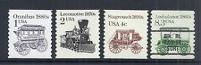 US Transportation Lot of 4, Variety/Reissue Coils - 2225 2226 2238 2231 MNH*