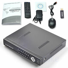 8CH AHD CVI TVI CCTV IP Camera DVR NVR WiFi Network Home Security Recorder Cloud