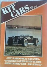 Kit Cars Magazine April 1982