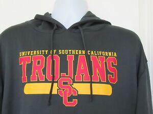 USC Trojans Hoodie Sweatshirt Men's Graphic Print Logo Size XL NWT