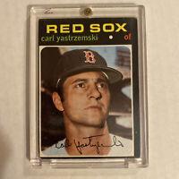 1971 Topps Carl Yastrzemski Boston Red Sox #530 Vintage Baseball Card HOF MVP🔥