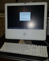 """Apple iMac 2GHz  A1208 17"""" Desktop - * AS IS / FOR PARTS & Apple Keyboard A1048"""