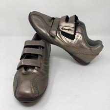 a21e57857fbc5 Champion Women s Silver Two Strap Shoes Size 9 Sneakers Walking Casual