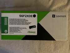 Original Lexmark Toner schwarz 56F2X0E 56F2X00 MS/MX421 521 A-Ware