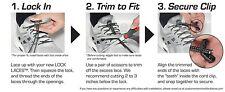 Cordones Elásticos De Cierre Ultra Rápido Ideal Para Triatlón Lock Laces