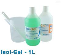 Isol-Gel 1L - Gel silicone d'étanchéité électrique bi-composant