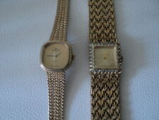 Pair Of Vintage Golden Crown Ladies watches with OC Cal R1 movement Not Working