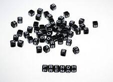 2500 Mixte Perles Acrylique Cubes Lettre//Alphabet 6x6mm