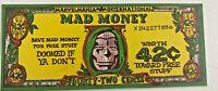 Vintage Mad Money Dr. Doom Promo Premium 1969  Marvel-Mania Scientist Riverdale