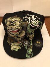 New King Bong Five Panel Hat Cap Glow In The Dark Khaos Promo