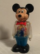 Vintage 1978 Walking Mickey Mouse by Gabriel-Wind Up Toy  Visible Gears