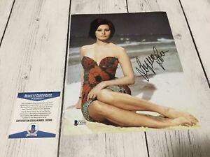 Sophia Loren Signed Autographed 8x10 Photo Beckett BAS COA c
