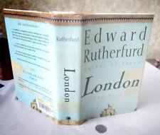 LONDON,1997,Edward Rutherfurd,1st American Ed,DJ