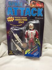 Vintage Toy Island 1991 Space Attack Crossbones Lunar Security Action Figure New