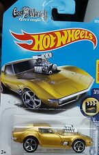 2017 Hot Wheels '68 Corvette Gas Monkey Garage MIDAS BEST DEAL MOSC Super Rare