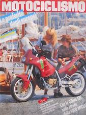 MOTOCICLISMO n°8 1991 Yamaha TDM 850 Ducati 851 S Honda Dominator 650 [P34]