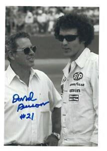 David Pearson Signed Autographed 4 x 6 Photo NASCAR Driver