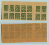 South Russia 1919 SC 62 mint Denikin block of 14 . rtb1400