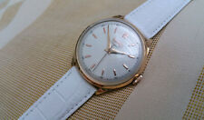 Vintage Swiss Eberhard automatic men's watch, 18k solid rose gold, running