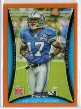 KENNETH MOORE 2008 Bowman Chrome Orange Refractor RC #BC37 3/25  ($.50 SHIPPING)