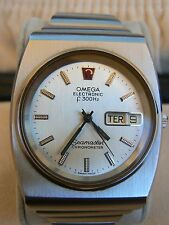 Vintage Omega Seamaster Chronometer Electronic F300Hz Watch Serviced 1970s