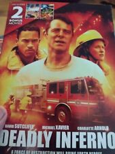 Deadly Inferno Plus - Fire From Below & The Day The Sky Exploded Dvd,Once viewed