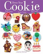 Book Cooking Dress Your Cookie Joanna Farrow Paperback Book Bake them Eat Them