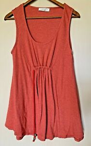 Layer'd cotton fine knit sleeveless layering long tank 2