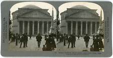 Stereo, Stereo Travel Co., Ancient Pantheon, still in perfect preservation, Rome