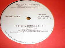 "Mouse/The Traps 12"" Hit The Bricks PROMO"