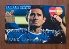 CREDIT CRUNCHERZ  TRADING  CARD,   FRANK LAMPARD