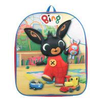 Bing Bunny Rabbit Bag Children's Boys Girls Backpack Rucksack 3D Textured