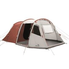 easy camp Huntsville 600 grey Familienzelt Sechs-Personen-Zelt Tunnelzelt grau