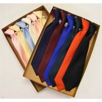 **UK Made** Quality Baby Toddler & Boys Elasticated Fit Long Satin Occasion Tie