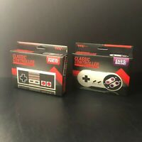 TTX Tech Classic Controller for NES / SNES | New In Box NIB