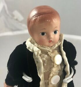 """6"""" Antique American Composition Tiny Patsy Doll! Rare! Adorable! 18157"""