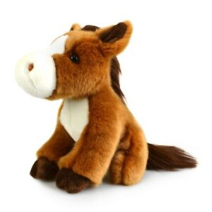 LIL FRIENDS HORSE PLUSH SOFT TOY 18CM STUFFED ANIMAL BY KORIMCO